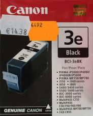 Canon BCI-3eBK - Black - original - ink tank - for BJ-S400; BJC-i550; i450; MultiPASS C755; PIXMA IP3000, IP4000, iP5000, MP750, MP760, MP780