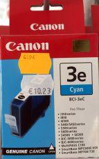 Canon BCI-3EC - Cyan - original - ink tank - for BJ-S400, S520; BJC-400, 600; i450, 550; MultiPASS C755, MP390; S400; SmartBase MP730