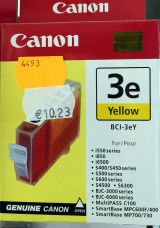 Canon - Yellow - original - ink tank - for BJ-S400, S520, S530; BJC-6200; i550; MultiPASS MP700, MP730; S400, 520, 530, 750